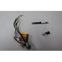 Antena Do Wi-fi Web Cam E Microfone Netbook Acer Aspire Zg5
