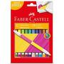 Canetinha Bicolor Faber Castell - 24 Cores