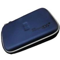Case Protetora Azul Para Nintendo Ds Lite