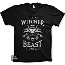 Camisetas The Witcher Gerald Rivia Ps4 Jogos Games