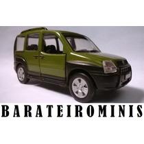 Fiat Doblô Adventure - Carros Do Brasil - 1:43