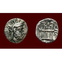 Kingdom Of Persis Silver Obol Moeda Antiga Grega Grecia