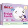 Fralda De Pano Especial 70x70cm Com 05 Unds - Mônica Baby