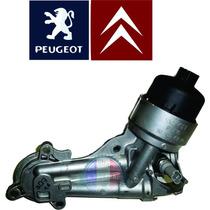 Suporte Filtro De Oleo Motor 206 207 307 308 208 C3 1.4 1.6