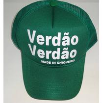 Boné Trucker Tela Palmeiras Verdão Verdão Estilo John John