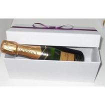 Caixa Tradicional Mini Espumante Ou Mini Vinho