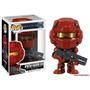 Boneco Funko Pop! Halo 4 Spartan Warrior Red Game Xbox Ps3