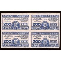 Sem Picote-rara Quadra N.111a-sd-cor Azul-9ª Feira 1936