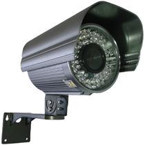 Câmera Vigilancia Visão Noturna 72 Leds 60 Metros 680 Linhas