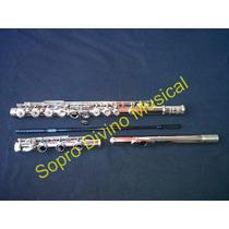Flauta Transversal Niquel Jahnke