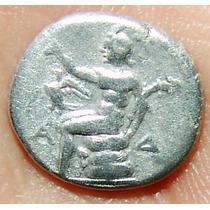 Arkadia Arkadian League Triobol, Moeda Antiga Grega Grécia
