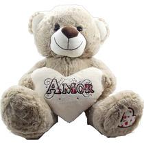 Urso Coração Amor Namorados Bicho Pelucia