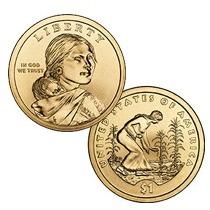 Moeda Dólar Sacagawea 2009 D - United States Mint
