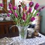 #688# Flor Importada Tulipa