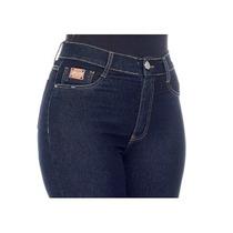 Calça Jeans Sawary Feminina Levanta Bumbum Hot Pant Flare