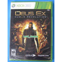 Deus Ex Human Revolution - Xbox 360 - Lacrado - Pronta Entr.