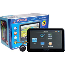 Gps Foston Fs3d 717 Full Hd, Camera Ré, Tv, Tela 7, Menu 3d