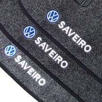 Jogo Tapete Carpete Saveiro G1 G2 G3 G4 E G5 Bordado