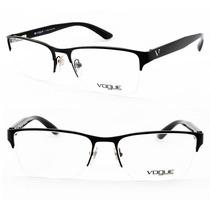 Armação Masculina P/ Óculos De Grau Vogue Original - Vo4007