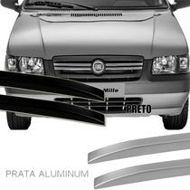 Longarina Teto Decorativa Slim Fiat Uno Antigo 135cm Tg Poli