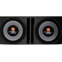 Caixa Mdf 2 Subwoofer Selenium Tornado 15 Polegadas 2200wrms