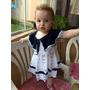 Vestido Marinheiro Infantil De Croche