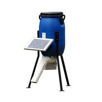 Alimentador Automático Para Peixes, 30 Litros, Painel Solar
