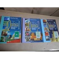 3 Volumes -química Meio Ambiente Cidadania E Tecnologia 2010