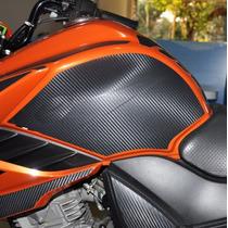 Protetor Tanque Lateral F Moto Yamaha Fazer 150 Frete Grátis