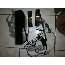 Nintendo Wii Preto Com Drive Destravado E 2 Controles Origin