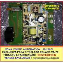Nova Fonte De Alimentação Roland Va-76 Bivolt 110/220