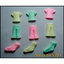 Kit Sabonete Artesanal Mini Roupas - 5 Unidades