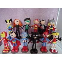 Enfeite Mesa Decoracao Festa Infatil Super Herois