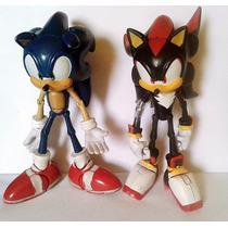 Lote 2 Bonecos Sonic & Sonic Boom Original Sega Articulado
