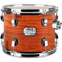Tom De 8 Bateria C/ Clamp (odery) Orange Wood