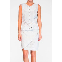 Camisa Branca Em Laise - Frete Grátis- Marca Belle & Bei