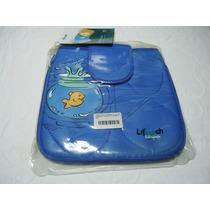 Capa Lifetech Case P/ Netbook De Até 10 Fish Azul