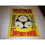 Album De Figurinhas Argentina 78 - Editora Sadira