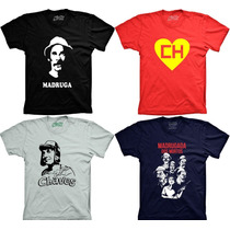 Camisetas Chaves Chapolin Seu Madruga Turma Do Chaves Chapol