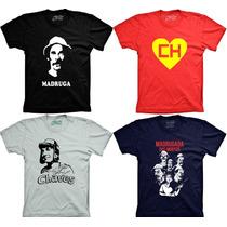 Camisetas Chaves Chapolin Seu Madruga Turma Do Chaves Chapol
