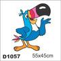 Adesivo D1057 Tucano Decorativo Criança Desenho Sucrilhos