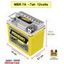 Bateria Mbr 7a - 7ah Moto Suzuki 125 Burgman Titan Honda