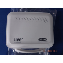Modem Router Zyxel Live Tim/oi Velox Branco Frete Gratis