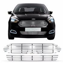 Sobre Grade Darta Novo Ford Ka 2015 Hatch Aço Inox Tubular