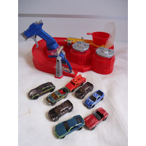 Pista Hot Wheels Color Shifters + 8 Carrinhos Que Mudam De C