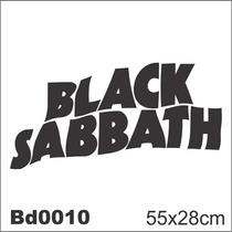 Adesivo Bd0010 Black Sabbath Rock Decoração Parede