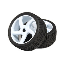 Rodas 1/8 On-road Car Whell Tire 17mm Hex 2 Peças Hobbyking