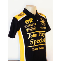 Camiseta Masculina Esportiva Equipe Lotus Formula 1 Gp 1985