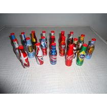 Coleçao Com 20 Minigarrafas Da Coca-cola E 5 Miniengradados