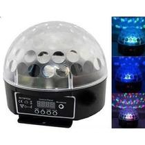 Bola Maluca Led Rgb 20w Crystal Ball Projetor Holográfic Dmx